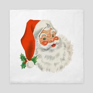 Vintage Santa Queen Duvet