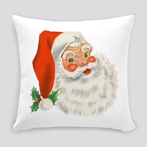 Vintage Santa Everyday Pillow