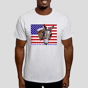 Proud American Mule Light T-Shirt