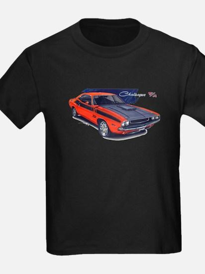 Dodge Challenger Orange Car T