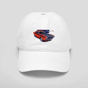 Dodge Challenger Orange Car Cap