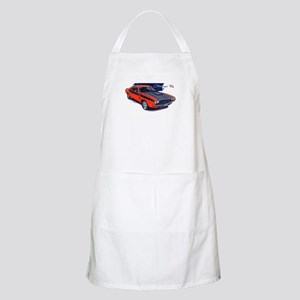 Dodge Challenger Orange Car BBQ Apron