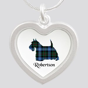 Terrier-Robertson hunting Silver Heart Necklace