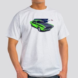 Dodge Challenger Green Car Light T-Shirt