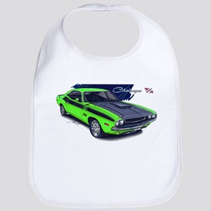 Dodge Challenger Green Car Bib