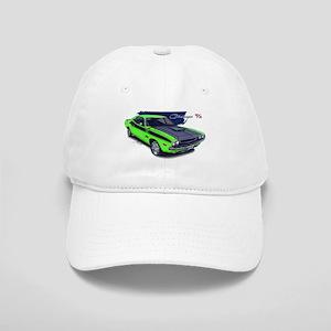 Dodge Challenger Green Car Cap