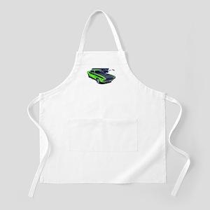 Dodge Challenger Green Car BBQ Apron