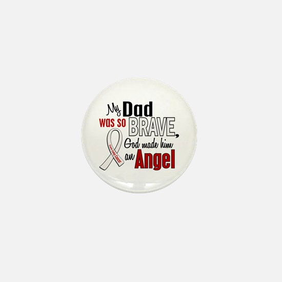 Angel 1 DAD Lung Cancer Mini Button