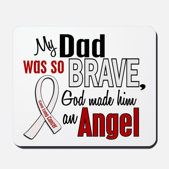 Angel 1 DAD Lung Cancer Mousepad