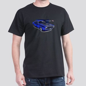 Dodge Challenger Blue Car Dark T-Shirt