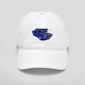 Dodge Challenger Blue Car Cap