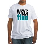 Wkyc Cleveland 1966 - Fitted T-Shirt