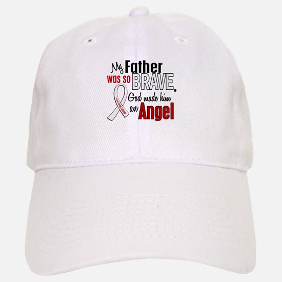Angel 1 FATHER Lung Cancer Baseball Baseball Cap