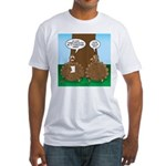 Turkey Dinner Fitted T-Shirt