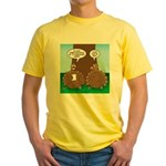 Turkey Dinner Yellow T-Shirt