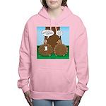 Turkey Dinner Women's Hooded Sweatshirt