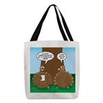 Turkey Dinner Polyester Tote Bag