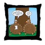 Turkey Dinner Throw Pillow