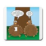 Turkey Dinner Mousepad