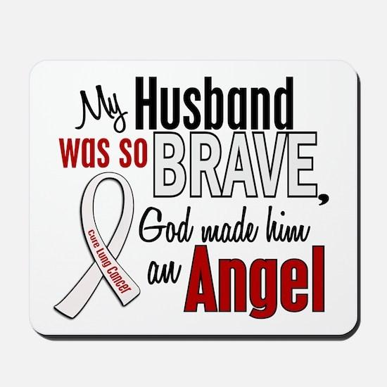 Angel 1 HUSBAND Lung Cancer Mousepad
