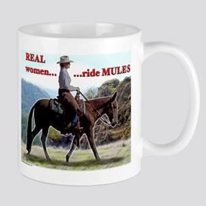 Real Women Ride Mules Mug