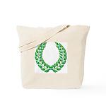 Green laurel Tote Bag