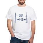 WKBW Buffalo 1958 - White T-Shirt