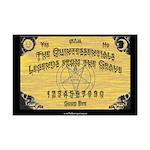 The Quintessentials ouija board mini-poster