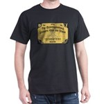 Quints 'Legends f/t Grave' Ouija Black T-Shirt