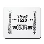 WKBW Buffalo 1958 -  Mousepad