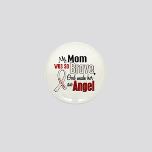 Angel 1 MOM Lung Cancer Mini Button
