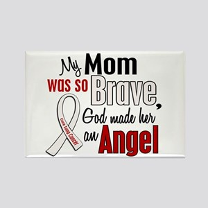 Angel 1 MOM Lung Cancer Rectangle Magnet