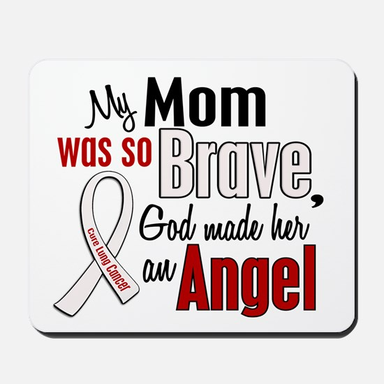 Angel 1 MOM Lung Cancer Mousepad