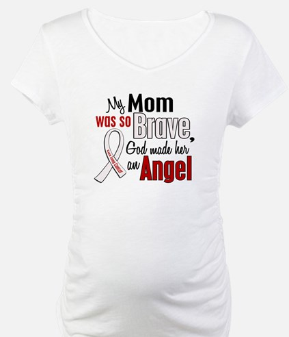 Angel 1 MOM Lung Cancer Shirt