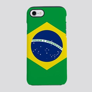 Flag of Brazil iPhone 7 Tough Case