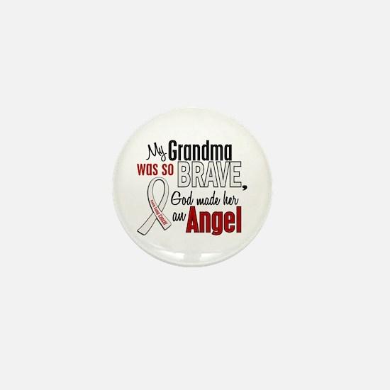 Angel 1 GRANDMA Lung Cancer Mini Button