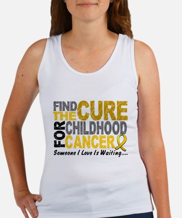 Find The Cure 1 CHILD CANCER Women's Tank Top