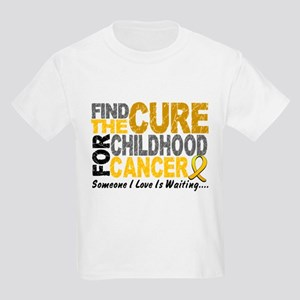 Find The Cure 1 CHILD CANCER Kids Light T-Shirt