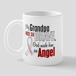 Angel 1 GRANDPA Lung Cancer Mug