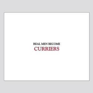 Real Men Become Curriers Small Poster