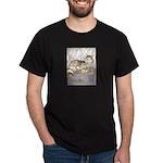 wolves in den Black T-Shirt