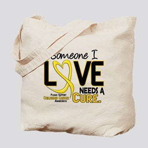 Needs A Cure 2 CHILD CANCER Tote Bag