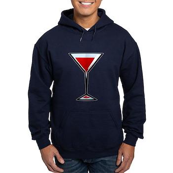 Vampire Martini Hoodie (dark)