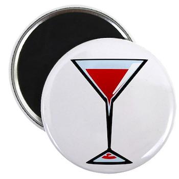 Vampire Martini Magnet