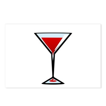 Vampire Martini Postcards (Package of 8)