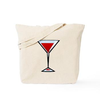 Vampire Martini Tote Bag