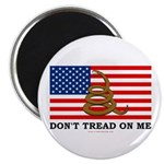 "Don't Tread on Me 2.25"" Magnet (10 pack)"
