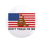 "Don't Tread on Me 3.5"" Button (100 pack)"