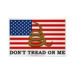 Don't Tread on Me Rectangle Magnet (10 pack)
