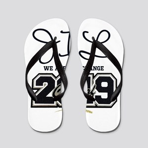 Senior Class Of 2019 Personalize Flip Flops